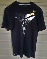 Vtg Kobe Bryant Black Mamba Nike Drifit T Shirt Sz S