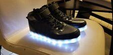 SAGUARO Unisex LED Light Lace Up Luminous Casual Shoes Sportswear Sneakers