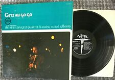 Stan Getz Au Go Go LP Vinyl OG Gatefold Verve Press with Astrud Gilberto