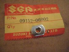 SUZUKI SP370/RE5/JR50/GT550/380/DR370/A100 6MM FRAME COVER MOUNTING NUT NOS!
