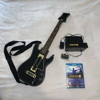 Wii U Guitar Hero Live Bundle with Black And Gold Guitar With Charger No Dongle