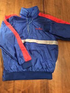 Vintage Anzani Sportswear Steamboat CO Ski Resort Blue Mens Jacket In Large Size