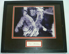 Paul Naschy Authentic Signed Framed Display Vintage Autographed, Horror Icon
