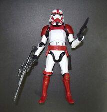 "Star Wars Black Series Red White Shocktrooper 6"" Loose Action Figure"