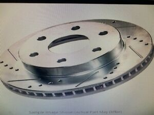 Power Stop JBR-1355XL - Power Stop Evolution Drilled & Slotted Rotors