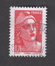 Marianne de Gandon oblitéré venant du carnet Libération 2015 -TB