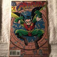 Robin No.1 Foil Cover Redbird Appearance DC Comics 1993 FAST FREE SHIPPING