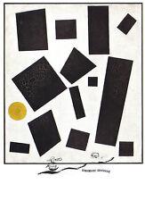 Kunstpostkarte -  Kazimir Malewitsch:  Suprematist Composition