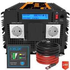 EDECOA 3500W 7000W Reiner Sinus Spannungwandler 24V 230V Solar Wechselrichter RV