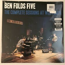 BEN FOLDS FIVE THE COMPLETE SESSIONS AT WEST 54TH 2LP WHITE VINYL 500 COPIES