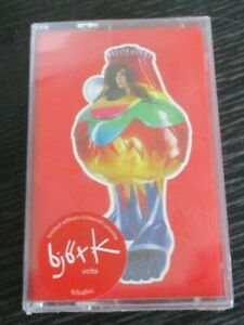 Bjork NEW sealed cassette Volta, tpip460c, coloured cassette, 5016958089078