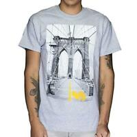Live Nation Mens Wu-Tang Clan Bridge Burnout Brooklyn Bridge Shirt New S, XL