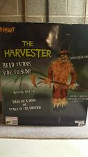 Spirit Halloween Animated Scarecrow , The Harvester Prop Animatronic