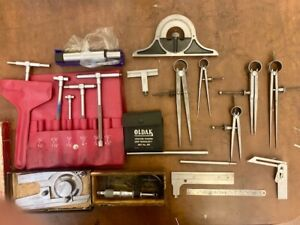 High Quality Machinist Measuring Equipment Assorted Lot Mitutoyo & More
