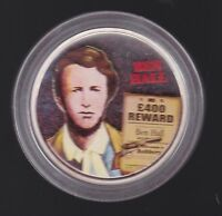 2003 AUSTRALIAN BUSHRANGER SILVER PROOF COIN Ben Hall Wild Colonial Days