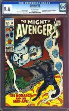 Avengers 62 CGC 9.6