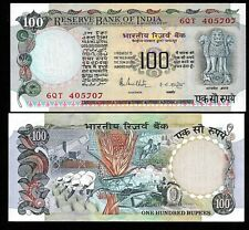 Rs 100/- 1980s India Banknote R.N MALHOTRA GEM UNC RARE