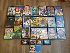 Megadrive Games Bundle/Joblot 27 Games