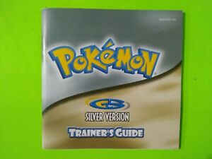 Pokemon Silver Version Trainer's Guide/Instructions Only GBA - Game Boy Advance