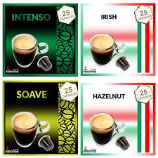 100 Capsules Compatible Nespresso Pods! 4 Flavors! INTENSO,SOAVE,IRISH,HAZELNUT