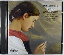 Mendelssohn: Sacred Choral Music, St. John's College Choir / David Hill, New CD