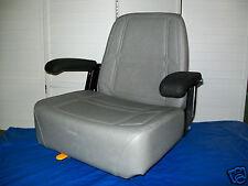 GRAY HIGH BACK SEAT EXMARK BUNTON,BOBCAT,DIXIE,SNAPPER,TORO, ZERO TURN MOWER #JE