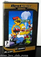 THE SIMPSONS HIT AND RUN SPIEL NEU PC ITALIENISCHE AUSGABE BEST SELLER