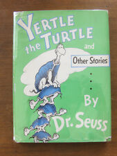 YERTLE THE TURTLE and other stories Dr. Seuss -1st 1958 HCDJ - 295/295 - cat hat