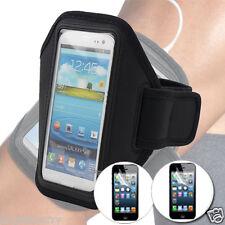 Black Premium Armband Case Cover For Sony Xperia Z1+2Flim