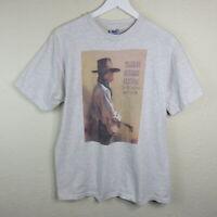 Vintage 1994 Single Stitch Telluride Bluegrass Festival T Shirt - Men's Large