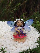 Miniature Dollhouse FAIRY GARDEN  ~ Fairytale Girl on Mushroom ~ NEW