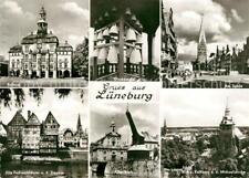 73070020 Lueneburg Rathaus Glockenspiel Am Sande Alte Fachwerkhaeuser an der Ilm