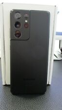 New Samsung Galaxy S21 Ultra 5G SM-G998U 512GB Phantom Black AT&T (Unlocked) GSM
