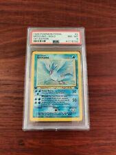 1999 Articuno 1st EditionPokemon Fossil  2/62 Rare Holo PSA 8 NM-MT
