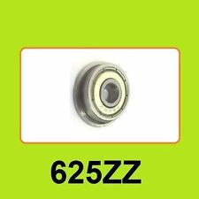 F625zz Mini Metal Double Shielded Flanged Ball Bearings (5mm*16mm*5mm)3D Printer