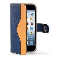 """Etui iphone 6 plus + cuir Haute qualité 5,5"""" Marque Celly Jeans"""