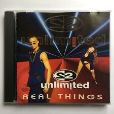 CD — Real Things — 2 Unlimited 1994 Critique Records