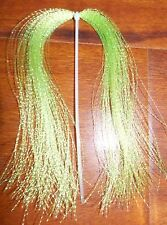 New listing Chartreuse Krystal Flash Fly Tying Material Combine Shipping