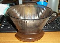 Melitta Pour Over Coffee Brewer Plastic Cone # 6 Filters 4 5 6 Cups