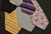 Lot of 6 CITY OF LONDON Neckties - incredibly cheap price! Grab it! E4