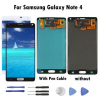 For Samsung Galaxy Note 4 LCD Display Touch Screen Digitizer Replacement DL