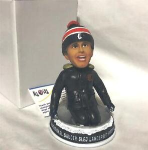 """2019 CT TIGERS CLARK GRISWOLD """"CHRISTMAS VACATION"""" SAUCER SLED SGA BOBBLEHEAD"""