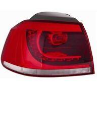 FANALE FARO POSTERIORE DX PER VW GOLF 6 2009- GTI GTD ESTERNO LED