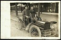 EARLY 1900s ANTIQUE CAR SCENE AUTOMOBILE TRANSPORTATION RPPC PHOTO POSTCARD