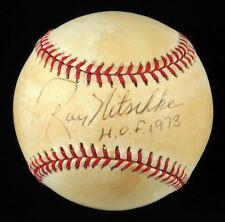 RARE Ray Nitschke Hall Of Fame 1978 Signed Baseball Green Bay Packers JSA COA
