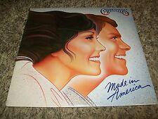 "SEALED The Carpenters ""Made In America"" 1981 A&M LP!"