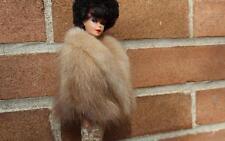 ~Sears Repro Autumn Haze Genuine Mink Fur Stole 4 Vintage Barbie doll~dimitha~