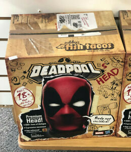 MARVEL LEGENDS DEADPOOL Interactive Electronic 1:1 Head ADULT ITEM NEW IN STOCK
