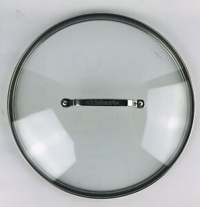 """Cuisinart Clear Tempered Glass 12"""" Inch Replacement Lid"""