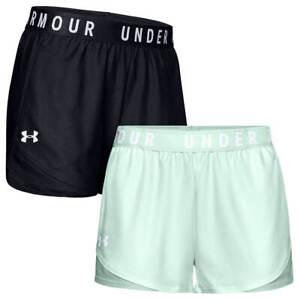 Under Armour Womens Play Up 3.0 Moisture Wicking Lightweight Gym Shorts